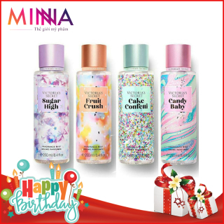 Xịt Thơm Toàn Thân Body Mist Victoria s Secret 250ml - BẢN GIỚI HẠN Mùi Thơm Hoa Quả Nhiệt Đới thumbnail
