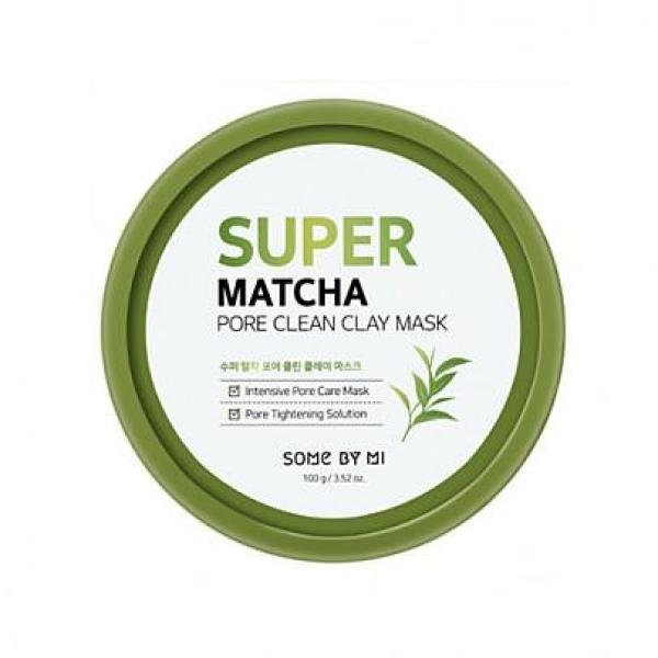 Mặt nạ dưỡng da Some By Mi Super Matcha Pore Clean Clay Mask 100g cao cấp