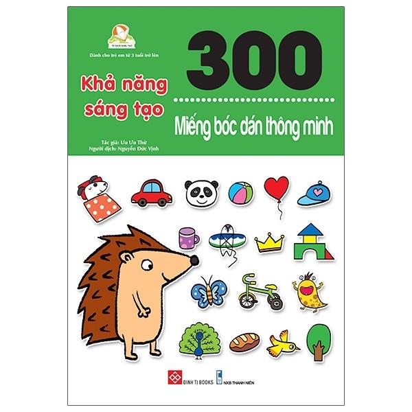 Mua Fahasa - 300 Miếng Bóc Dán Thông Minh - Khả Năng Sáng Tạo