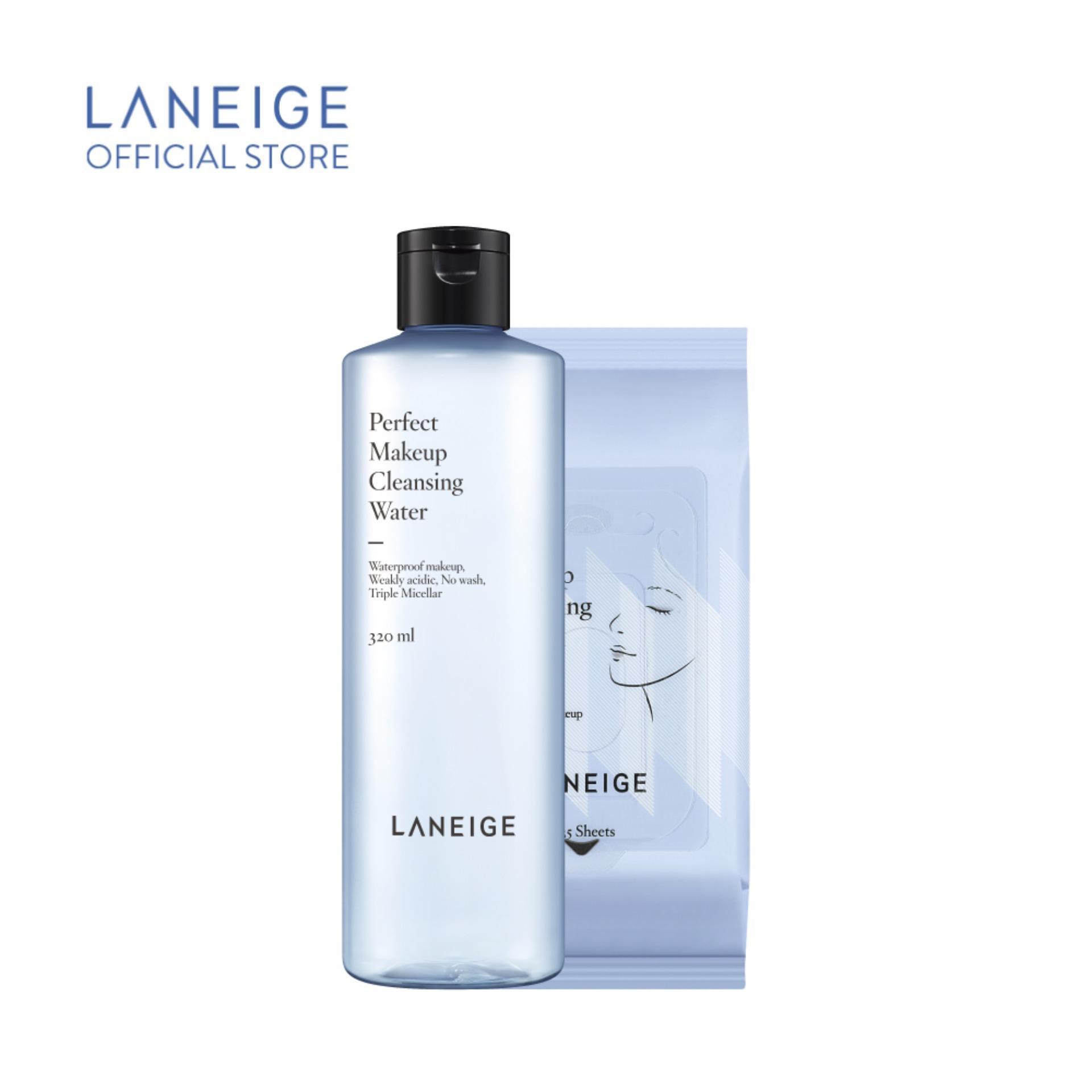 Nước tẩy trang hoàn hảo Laneige Perfect Makeup Cleansing Water 320ml nhập khẩu