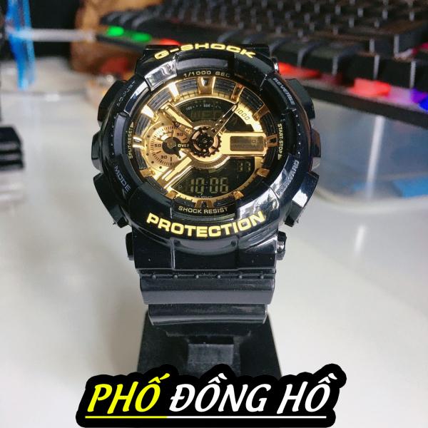 Nơi bán Đồng hồ thể thao nam G-Shock GA-110GB-1A (ĐEN VÀNG BÓNG) + Made in JAPAN Siêu chống nước+ ẢNH THẬT TỰ CHỤP+Bảo hành 12 tháng+ Tặng kèm pin dự phòng và nhiều quà tặng+PHỐ ĐỒNG HỒ