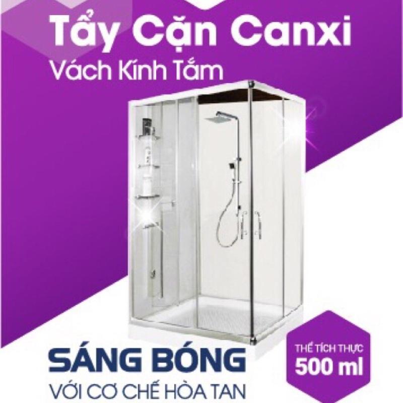 [Loại cực mạnh][tẩy là sạch] Nước tẩy kính bị cáu cặn canxi, vảy cá, ố đục lâu năm Sabo-K chai 500ml không mùi