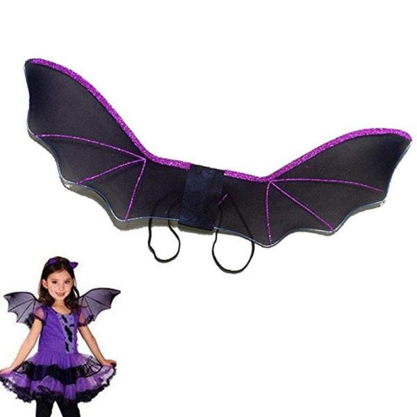 Cosplay Halloween Batwings Bat Wings Human Skeleton Party Party Clothing Cute Horror Clothing Home Decor ChildrenS Halloween Wings