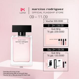 [TẶNG VOUCHER 500K] Nước hoa nữ Narciso Rodriguez Musc Noir For Her Eau De Parfum 50ml thumbnail