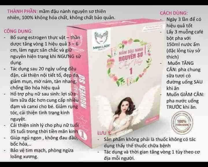 Mầm Đậu Nành-Tăng Vòng 1 -Minh Lady Beauty