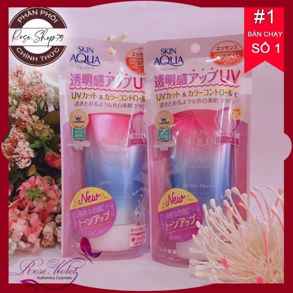 Kem chống nắng nâng tông da Skin Aqua Uv Tone Up spf50/pa++++ nội địa nhật, chuỗi cửa hàng Baby Crush chuyên phân phối các sản phẩm làm đẹp uy tín số 1 Tây Nguyên, cam kết 100% hàng chính hãng giá rẻ