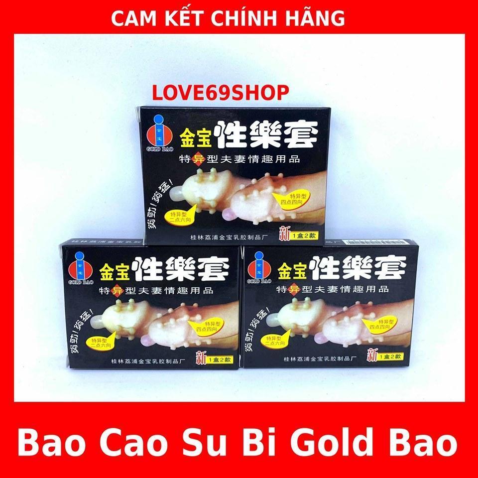 BAO CAO SU GOLD BAO BI (bộ 3hop/6bao) -16 bi chạy dọc thân bao
