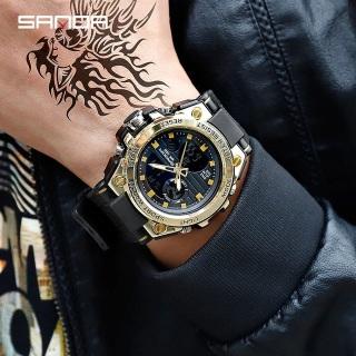 Đồng hồ thể thao nam Sanda chạy 2 máy độc lập thiết kế thời trang phong cách mạnh mẽ, cá tính - Hot trend 2020 thumbnail