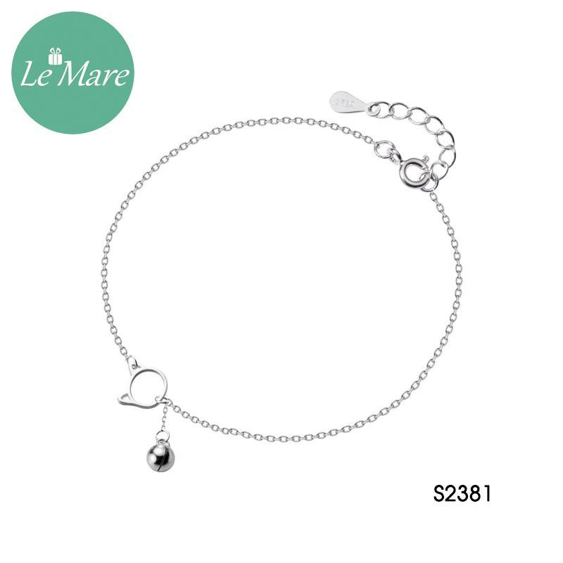 Lắc chân bạc thời trang Lemare Jewelry S2381