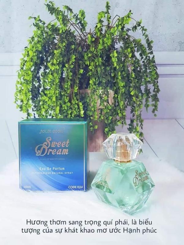 Nước hoa nữ Jolie Dion Sweet dream Eau de Parfum 60ml