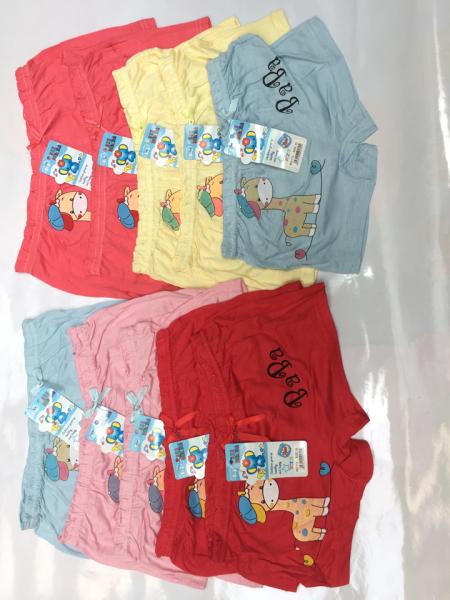 Giá bán Combo 10 quần đùi chíp cho bé ( TU 10-25ky xem bảng size phía dưới)
