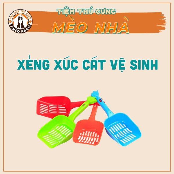 Xẻng xúc cát vệ sinh cho mèo