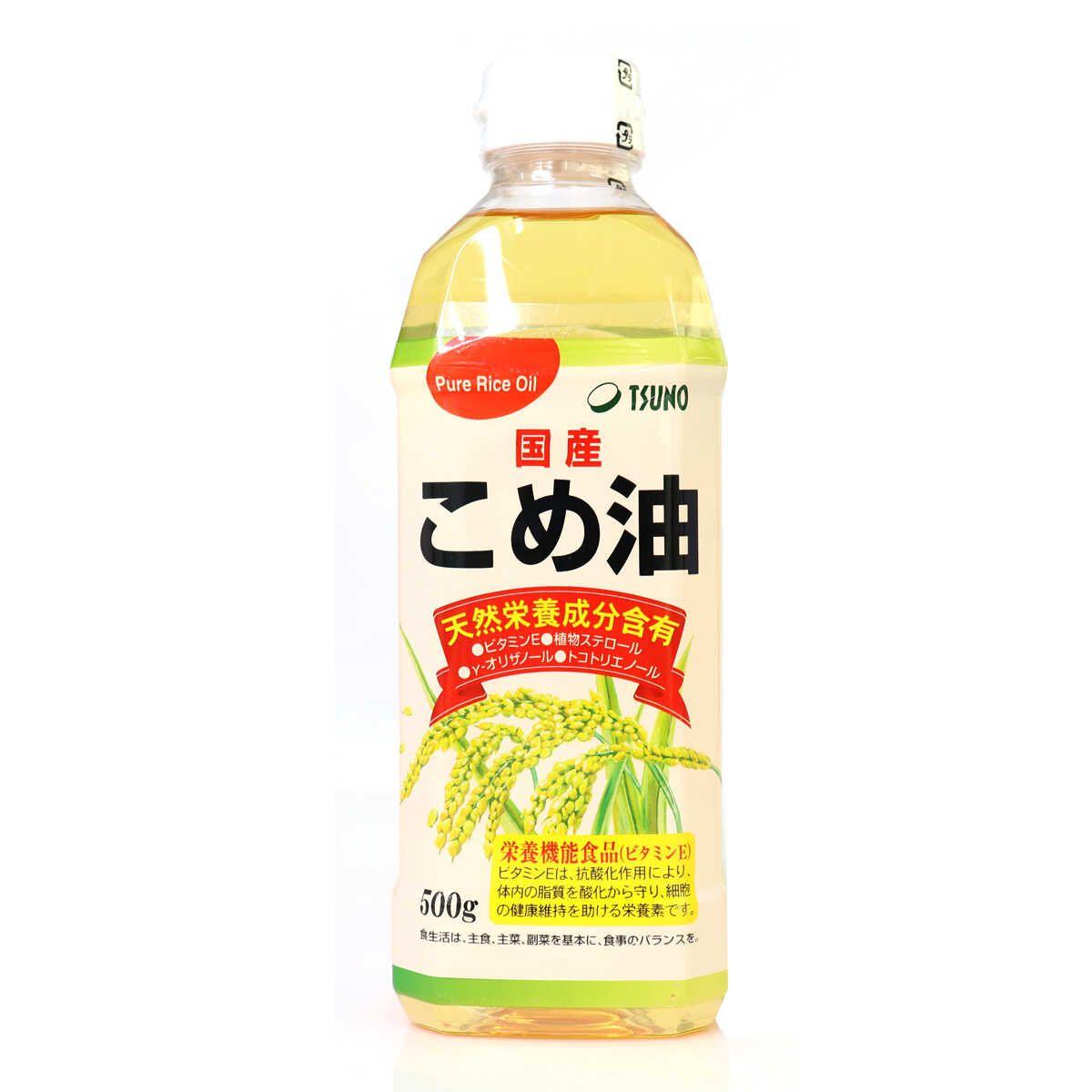Dầu Gạo Nhật Bản Tsuno Nguyên Chất 500g