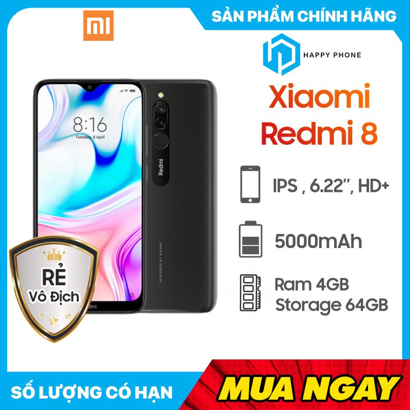 Điện thoại Xiaomi Redmi 8 RAM 4GB ROM 64GB - Sẵn Tiếng Việt, Hàng mới 100%, Nguyên seal, Chính hãng, Bảo hành 18 tháng [Điện thoại giá rẻ]