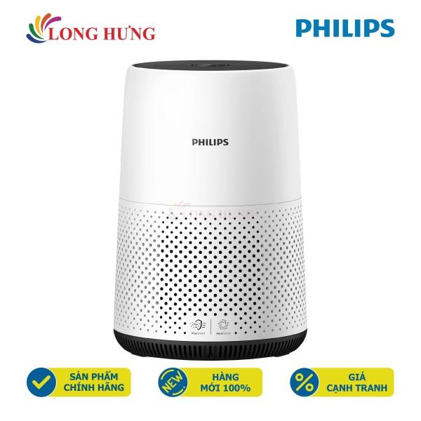 Máy lọc không khí Philips Series 800 AC0820/10 - Hàng chính hãng - Phạm vi lọc hiệu quả, Điện tiêu thụ: 22W, Cảm biến bụi 2.5PM