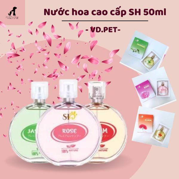 ( Chính Hãng) Nước hoa SH cao cấp dành cho thú cưng 50ml