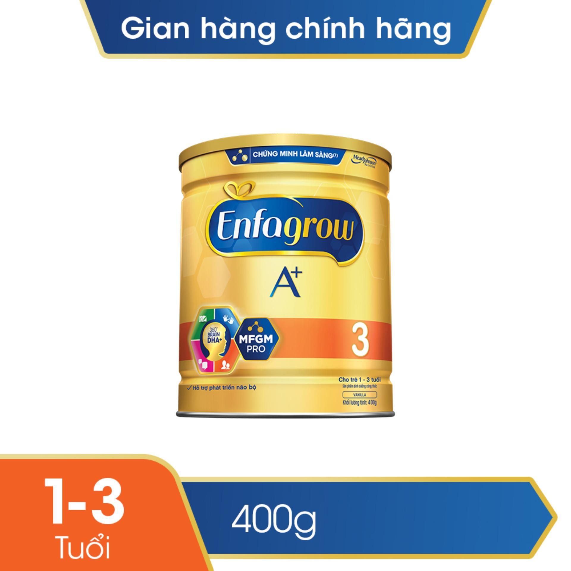 Sữa bột Enfagrow A+ 3 400gr