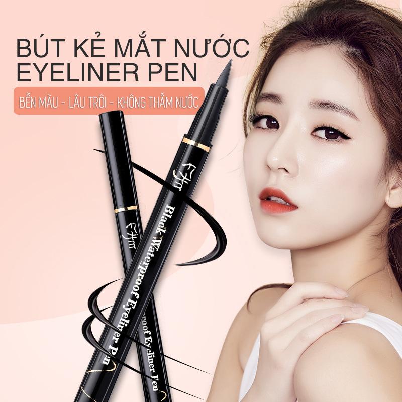 Bút kẻ mắt nước Eyeliner Pen không trôi - Bút kẻ viền mắt bền màu, không trôi, không thấm nước