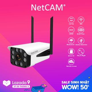 Camera Giám Sát IP Wifi Ngoài Trời NetCAM NT5.0DL 5MP - Hãng Phân Phối Chính Thức thumbnail