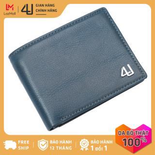 Bóp ví nam da bò pullup 4U cao cấp dáng ngang, có nhiều ngăn đựng tiền và thẻ tiện dụng FB236 thumbnail