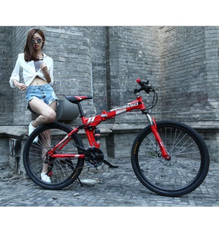 Phân phối Xe đạp leo núi địa hình gấp gọn Begasso trẻ trung cá tính cho nhiều lưa tuổi