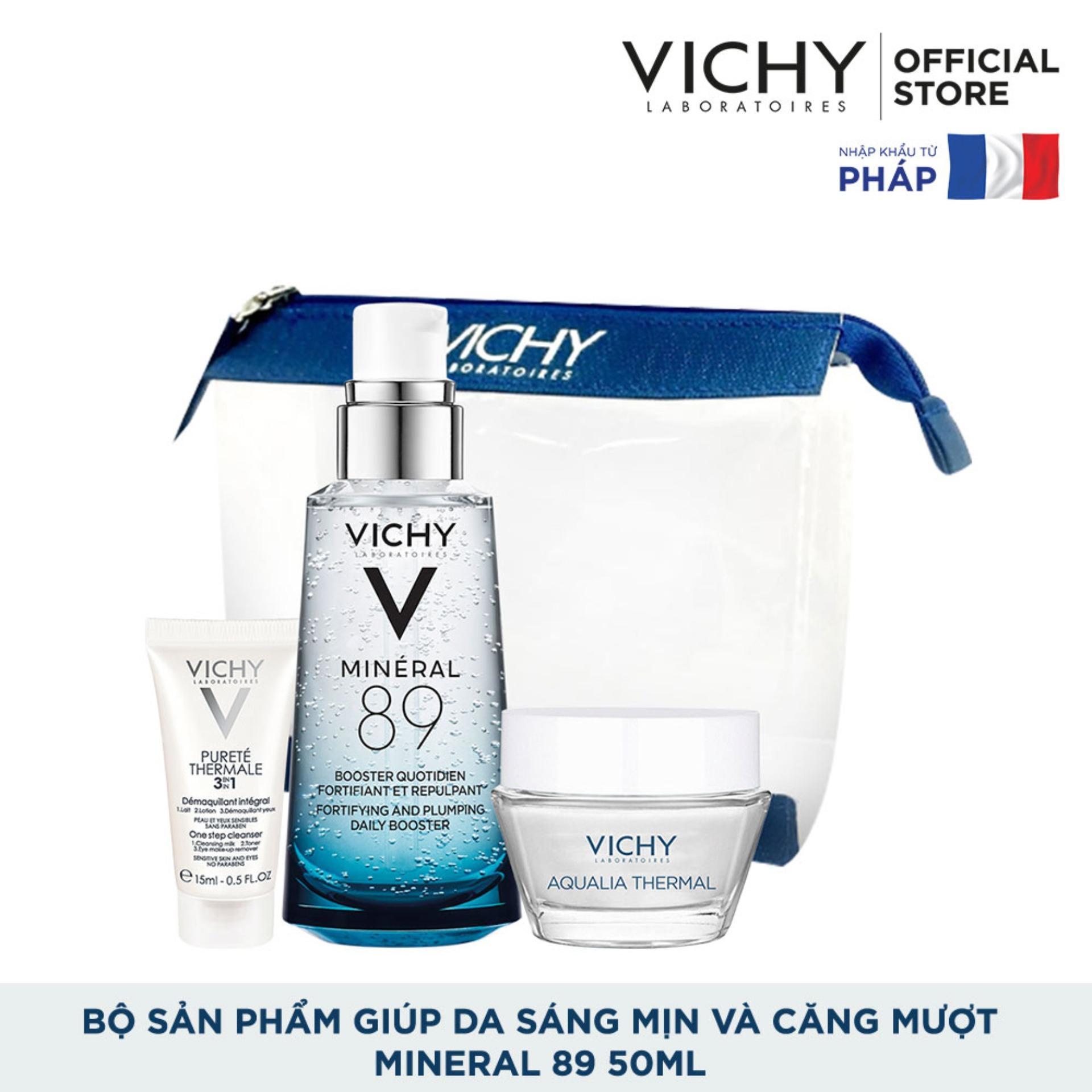 Bộ sản phẩm Dưỡng Chất (Serum) Giàu Khoáng Chất Vichy...