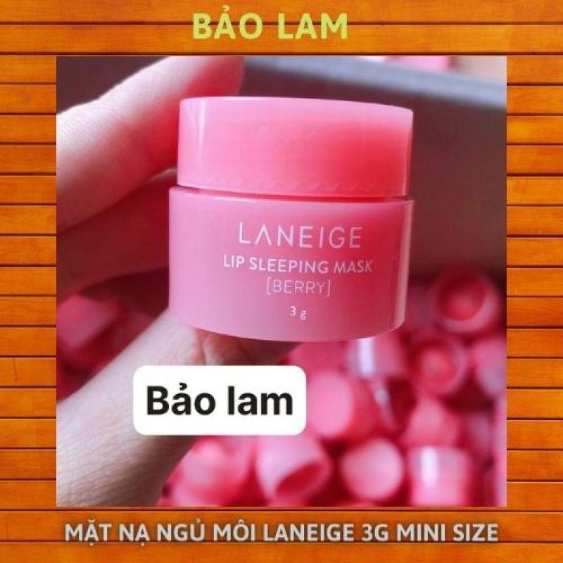 Mặt nạ ngủ môi laneige 3g mini size giá rẻ