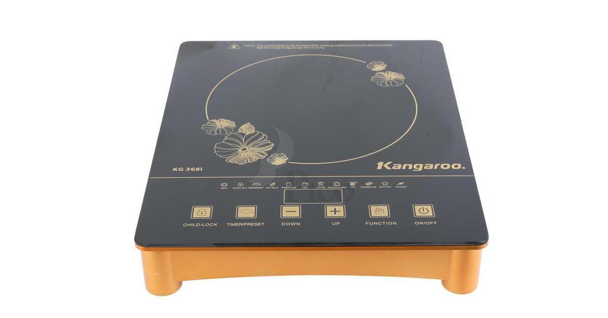 Bếp Hồng Ngoại đơn Kangaroo KG368i (Đen), 8 Chế độ Nấu -  Bảo Hành 12 Tháng -  Hàng Chính Hãng Giảm Giá Khủng