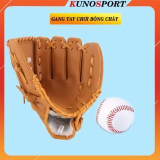Găng tay chơi bóng chày da cao cấp chuyên dụng thumbnail