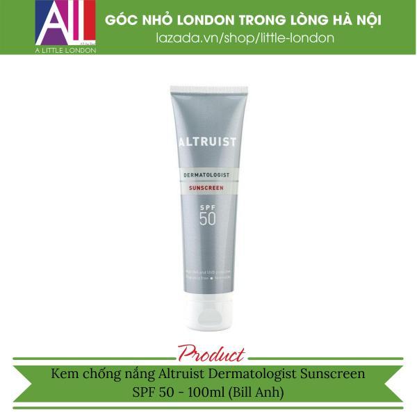 Kem chống nắng Altruist Dermatologist Sunscreen SPF 50 - 100ml (Bill Anh) nhập khẩu