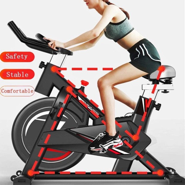 Xe đạp tập thể dục tại nhà Gh-603 - ảnh thật - Bảo hành 12 tháng