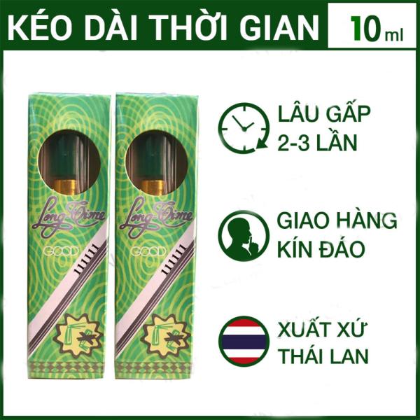 Bộ 2 Tinh chất Thái Lan Longtime hỗ trợ nam giới, kéo dài thời gian cao cấp