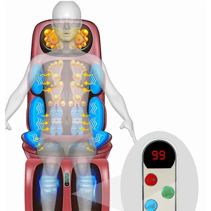 Ghế Massage toàn thân cao cấp. Xua tan mệt mỏi, đau nhức vai gáy, đau lưng cao cấp