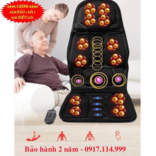 NỆM MASSAGE TOÀN THÂN - Đệm ghế matxa toàn thân  - Đệm ghế massage toàn thân ( Dùng được trên oto )