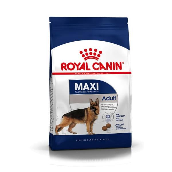 Thức Ăn Cho Chó Từ 26 - 44Kg Và Trên 15 Tháng Tuổi Royal Canin Maxi Adult Túi 4Kg