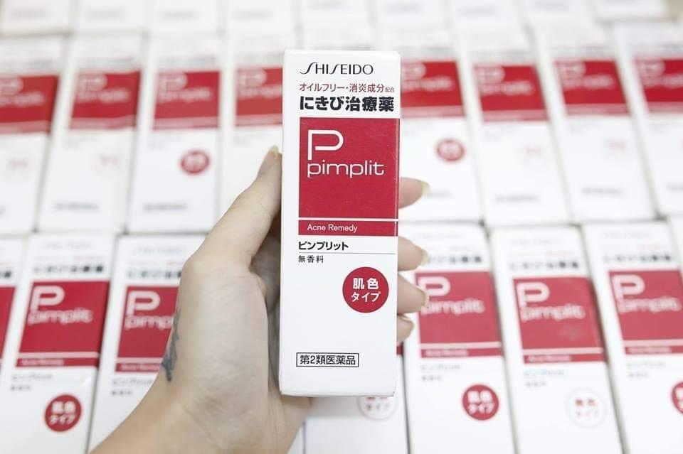 Kem Làm Giảm Thâm Mụn Shiseido Pimplit Nhật Bản Giá Sốc Không Thể Bỏ Qua