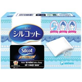 Bông tẩy trang Silcot hộp 82 miếng Nhật Bản thumbnail