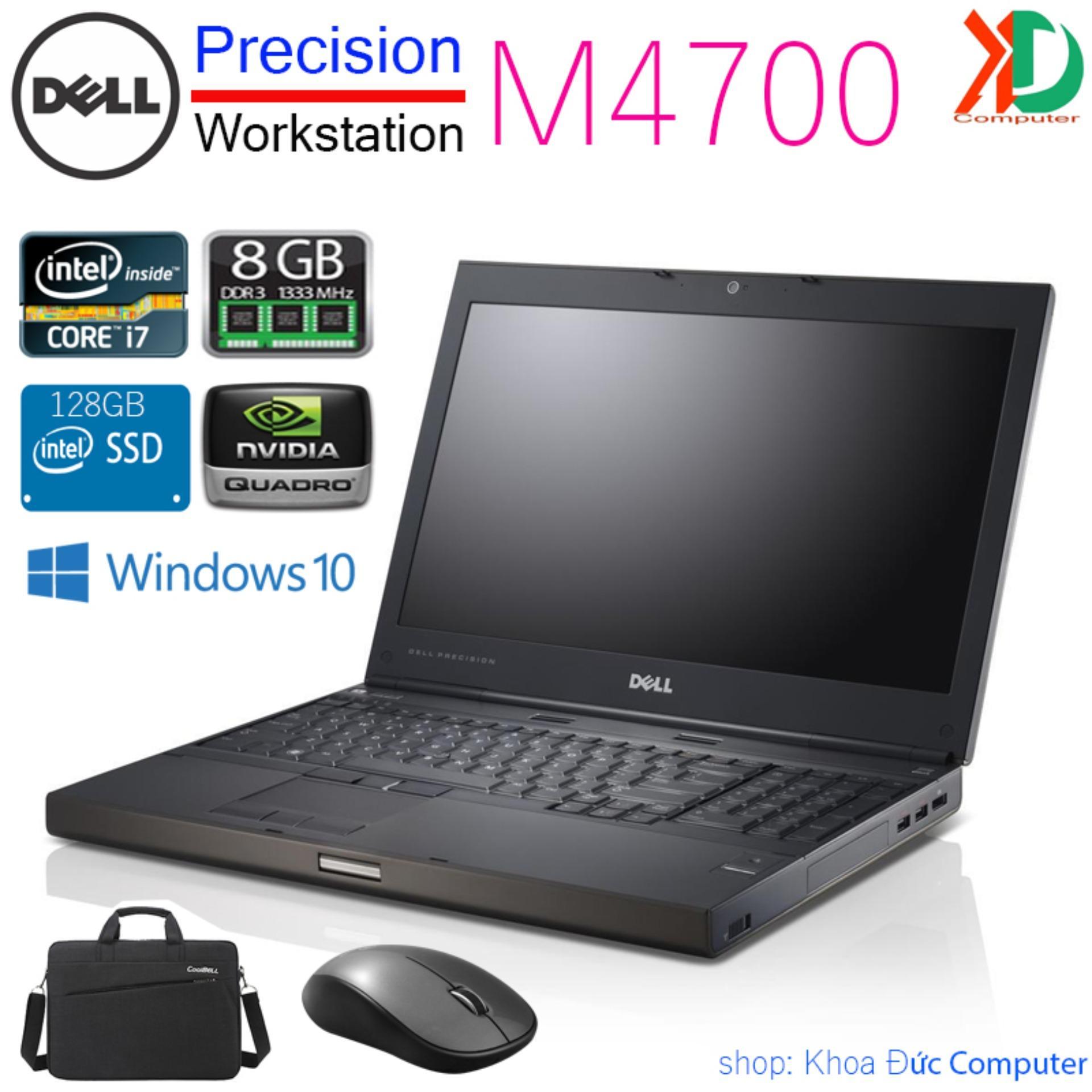 Laptop Máy Trạm Dell Precision M4700 Core I7-3740QM / 8gb Ram / 128gb SSD / VGA Quadro K1000M / 15.6 Full HD Giảm Duy Nhất Hôm Nay