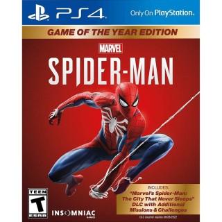 [Nhập ELJAN2 giảm đến 200k cho đơn 99k] Đĩa Game Ps4 Marvel s Spider-Man-Game of the Year Edition thumbnail