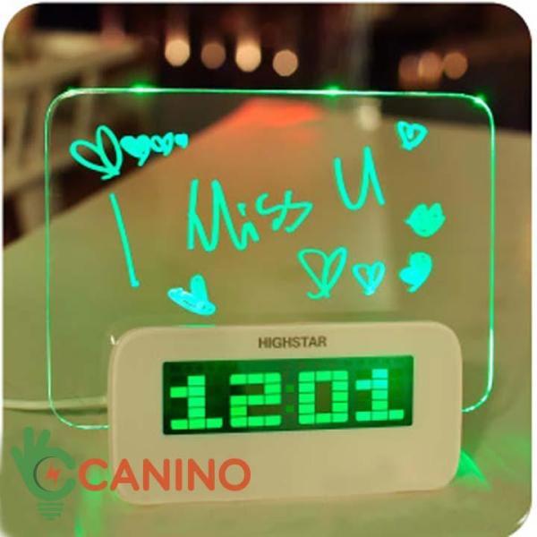 Nơi bán Đồng hồ báo thức HIGHSTAR bảng ghi nhớ phát sáng không Hub