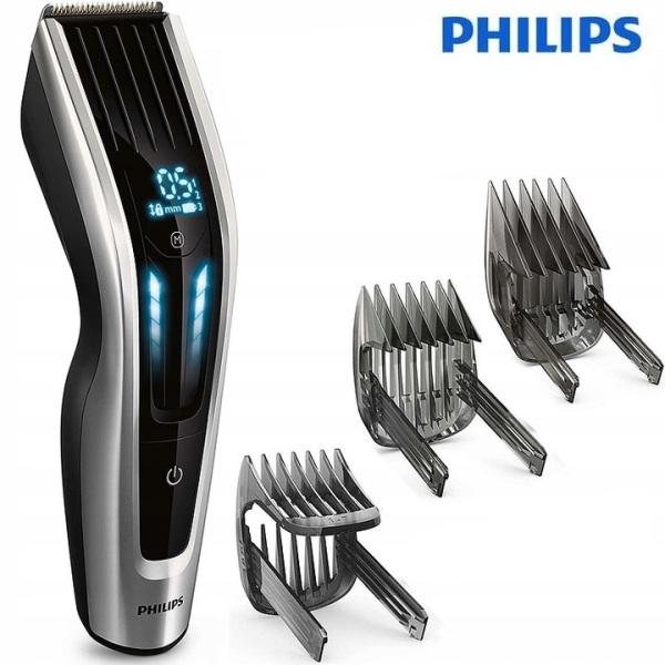 Tông đơ cắt tóc cao cấp thương hiệu nhập khẩu Philips HC9450/15, lưỡi cắt titanium dễ dàng thay đổi cữ lược, màn hình điều khiển cảm ứng, dùng liên tục lên đến 120 phút [Bảo hành 12 tháng] nhập khẩu