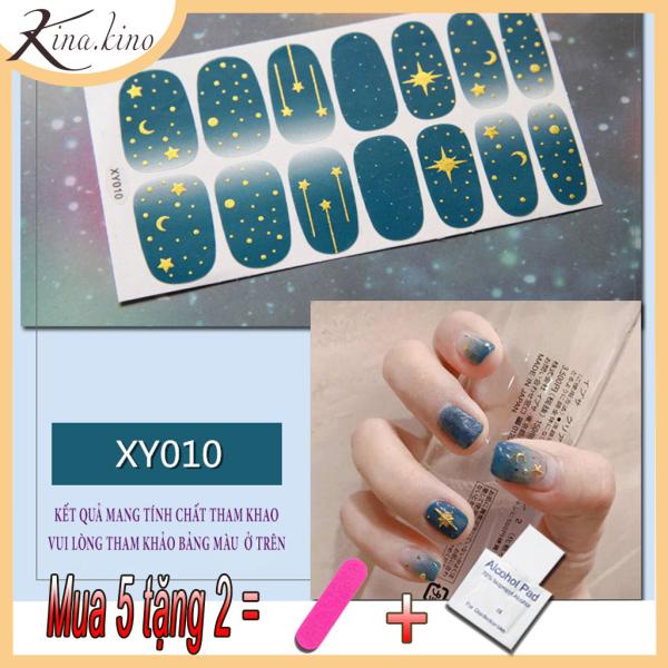 Set 14 miếng dán móng tay, có hơn 40 mẫu miếng dán móng tay 3D cho bạn lựa, miếng dán móng tay cute - Phụ kiện làm đẹp Kina kino