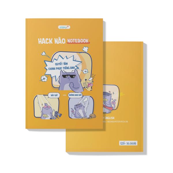 Mua Combo 2 Sổ tay - Hack Não Notebook - Step Up English hữu ích cho học viên