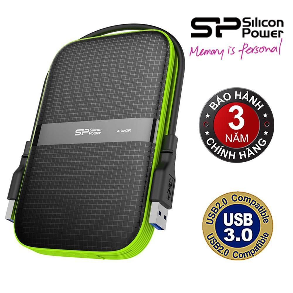Ổ cứng di động 3.0 2TB Silicon Power Armor A60 - Hãng Phân Phối Chính Thức