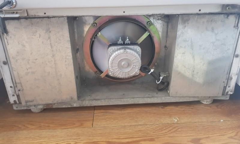 Mô tơ quạt tản nhiệt Block dàn nóng Tủ Lạnh, Tủ Mát, Tủ Đông 25W & 40W.
