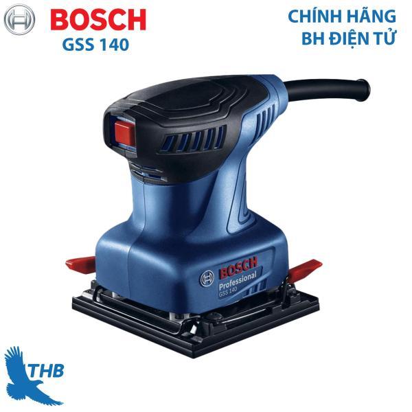 Máy chà nhám Máy chà rung Bosch GSS 140 Công suất 180w bảo hành điện tử 6 tháng