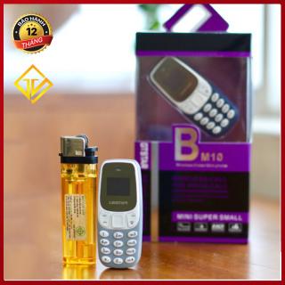 [Nhập ELMAY21 giảm 10% tối đa 200k đơn từ 99k]Điện thoại mini BM10 có giả giọng nói - Bảo hành 12 tháng thumbnail