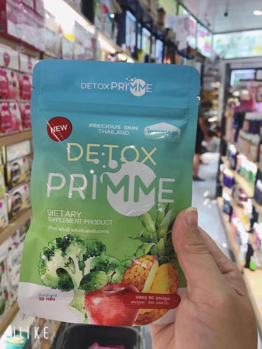 DETOX GIẢM CÂN RAU CỦ QUẢ Thái Lan, Siêu hiệu quả nhập khẩu