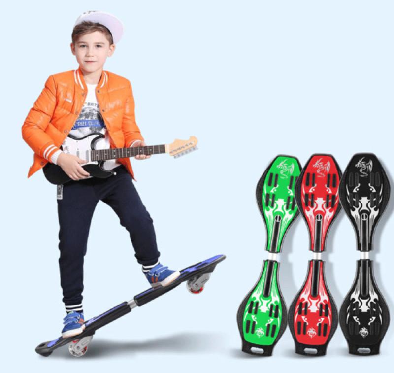 Mua ( SALE 50% - BẢO HÀNH 1 NĂM ) Ván Trượt , Ván Trượt Lắc Người Lớn Trẻ Em , Ván Trượt Xoắn Skateboard Twister 2 bánh đèn LED Cao Cấp , Ván Trượt Thể Thao 247