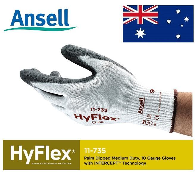 Găng tay chống cắt cao cấp Ansell HyFLex 11-735